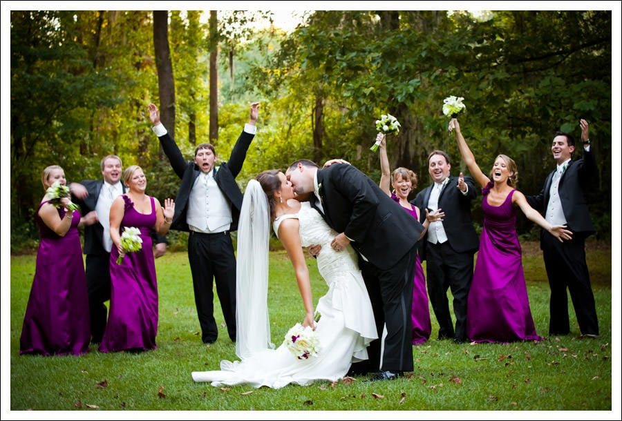 Millstone at Adams Pond Wedding, Columbia SC :: Lacy and Randy