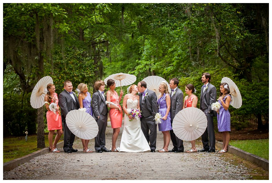 Blake and Lindsay's Wedding at Adams Pond in Columbia, SC