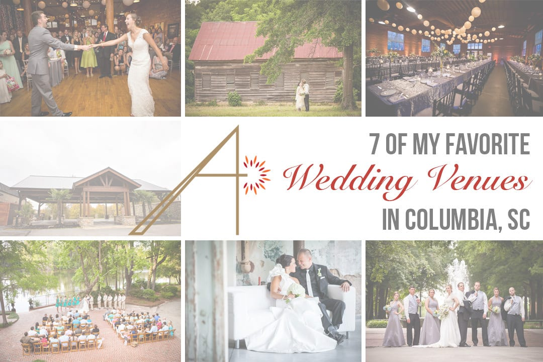 Best Wedding Venues in Columbia, SC