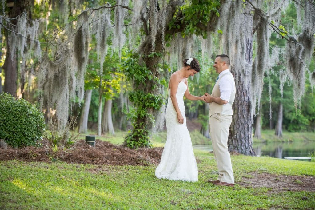 Elopement in Columbia SC by wedding photographer Corey Potter of Ablaze Photography
