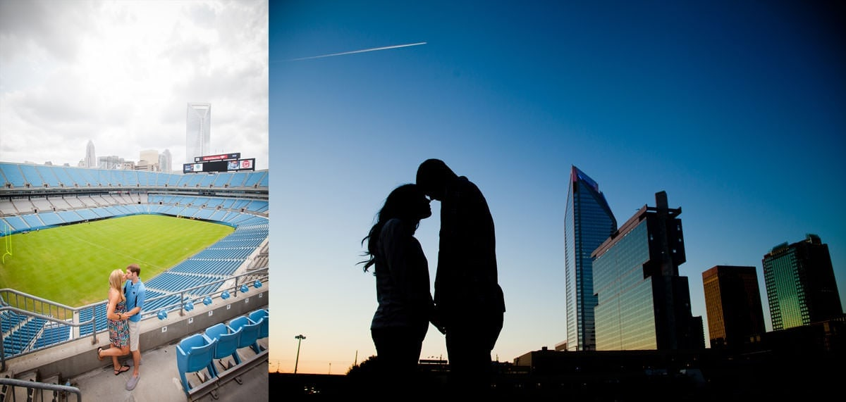 Engagement Session Locations in Charlotte NC