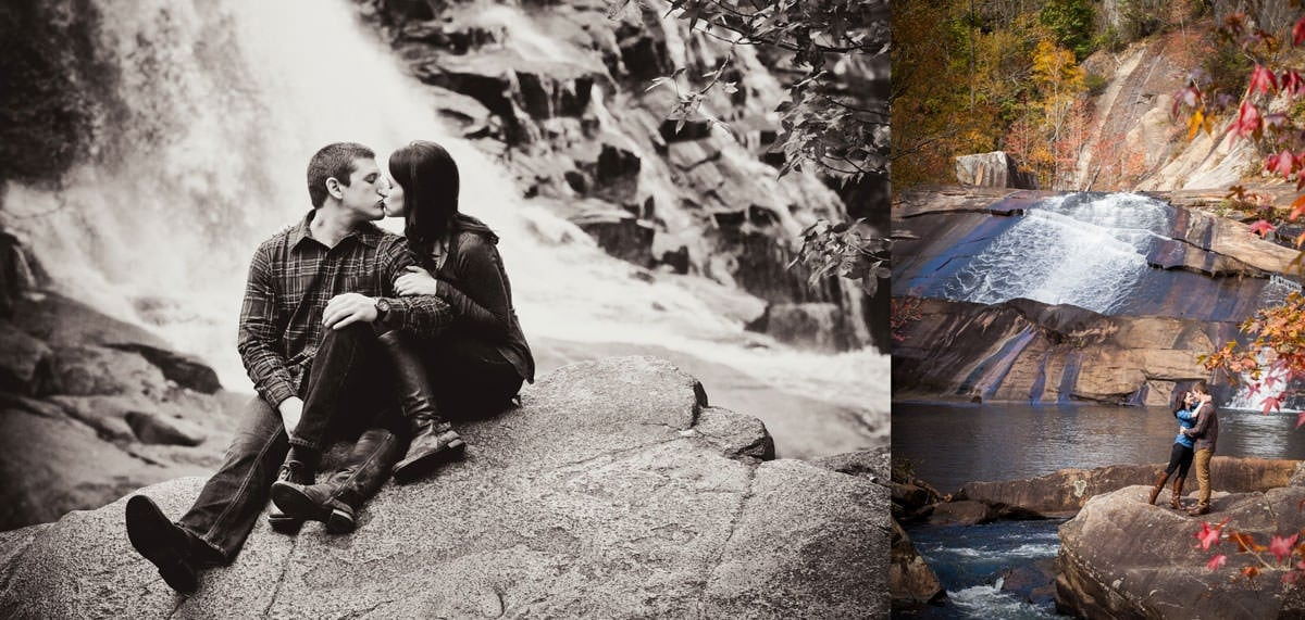 Engagement session at Tallulah Gorge